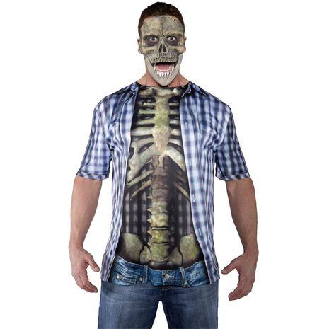 Маска для костюма Скелета