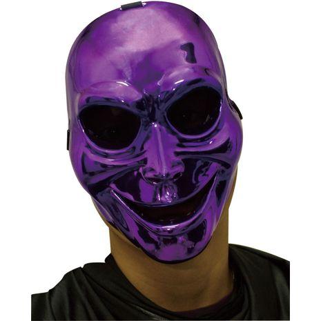 Маска Зловещий призрак фиолетовая