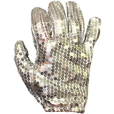 Перчатки Майкла Джексона блестящая