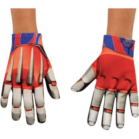Перчатки Оптимус Прайм детские