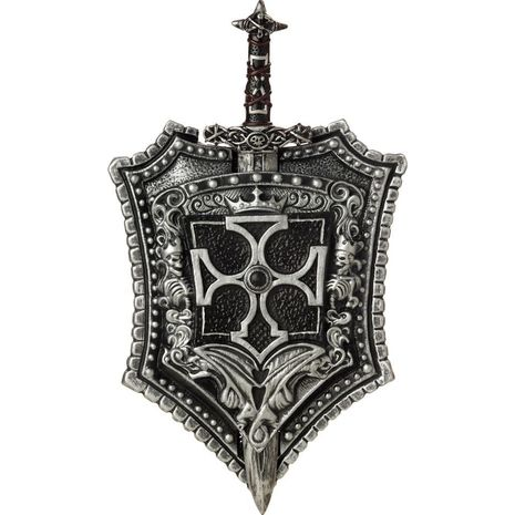 Щит и меч крестоносца