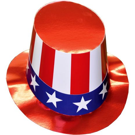 Шляпа Дяди Сэма картонная