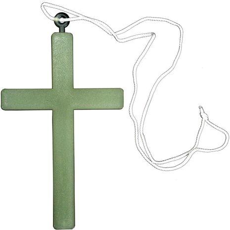 Светящийся крест монаха
