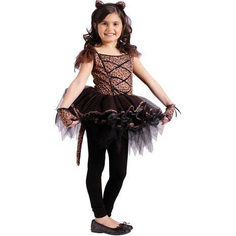 Карнавальный костюм балерины в стиле леопард